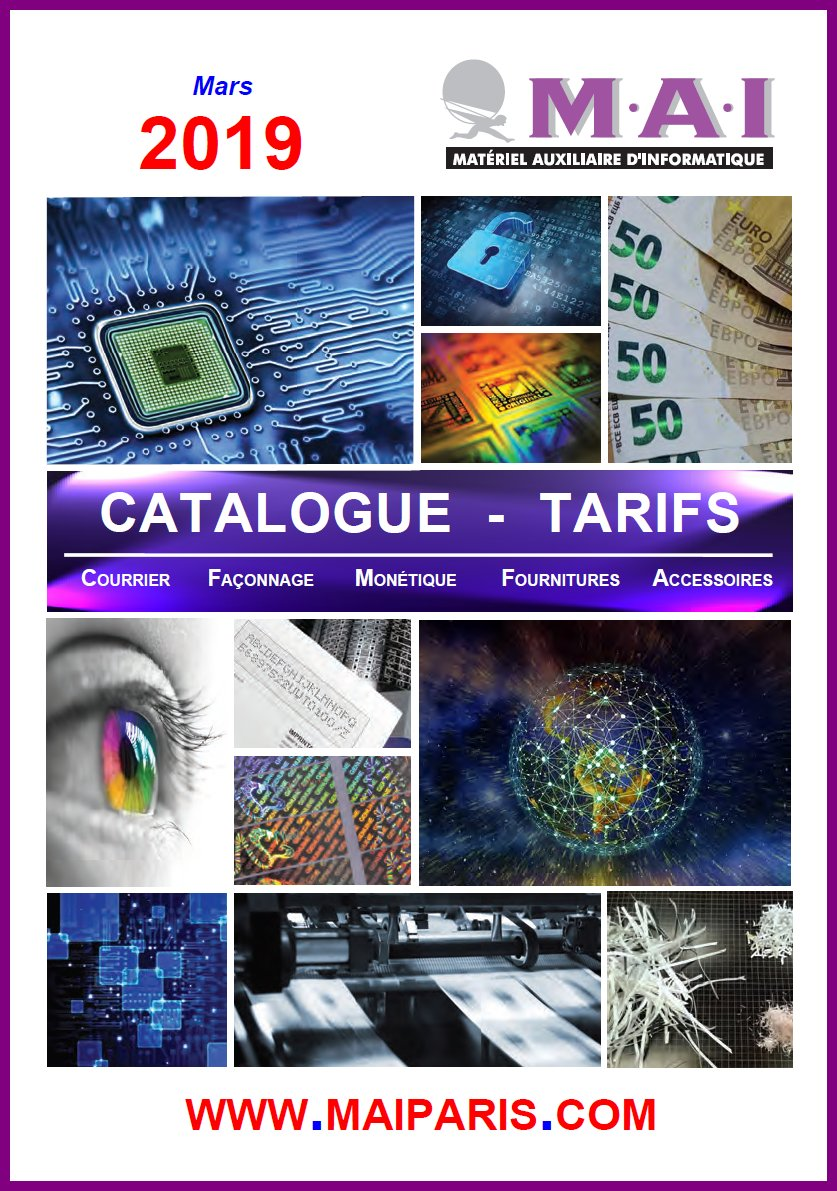 Catalogue 2019 - sans prix
