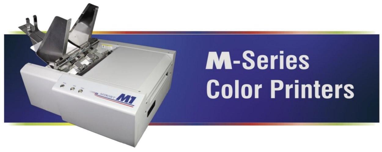La famille d'imprimantes d'adresses MAI vous permet de personnaliser et d'imprimer des adresses et des codes-barres en couleur et/ou en noir et blanc à une vitesse fulgurante.